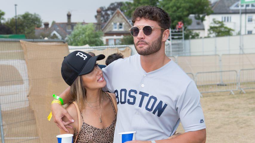 Megan McKenna und Mike Thalassitis im Juli 2018