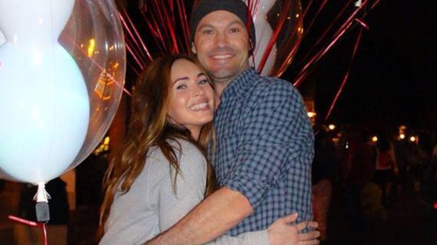 10 Jahre happy: Megan Fox & Brian total verliebt!