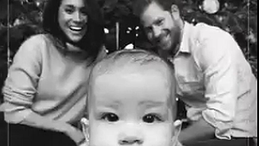 Herzogin Meghan, Prinz Harry und Baby Archie zu Weihnachten 2019