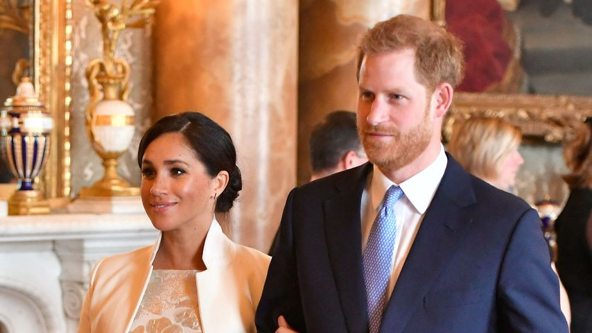 Herzogin Meghan und Prinz Harry in London, März 2019