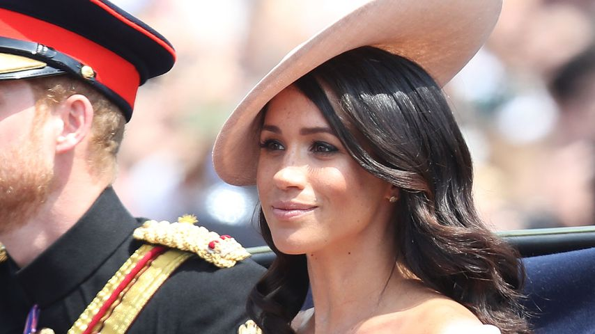 "Meghan Markle bei der ""Trooping The Colour""-Parade in London"
