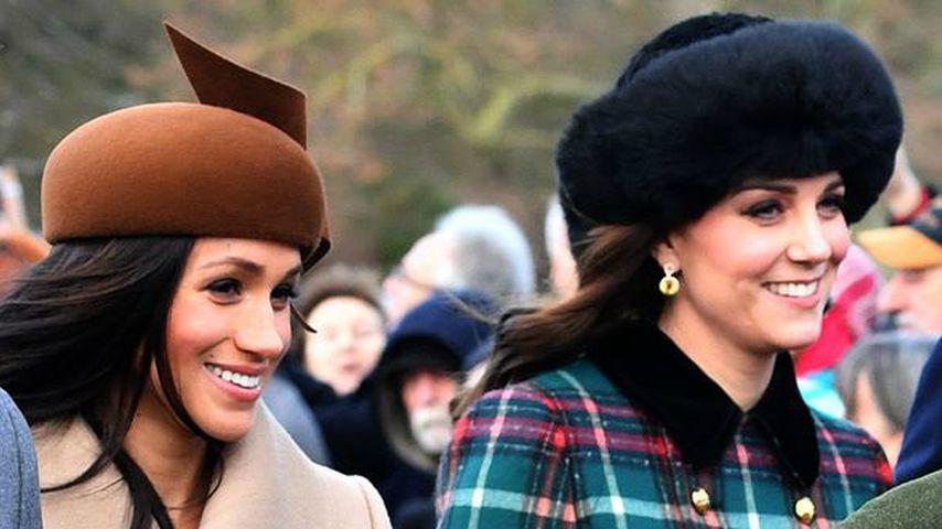 Meghan selbst royal: Vor Kate muss sie aber noch knicksen!