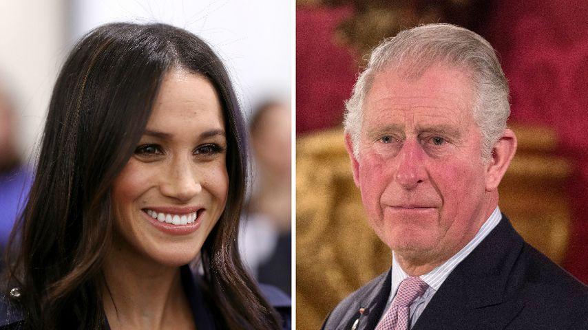Meghan Markles Garderobe: In Zukunft bezahlt Prinz Charles!
