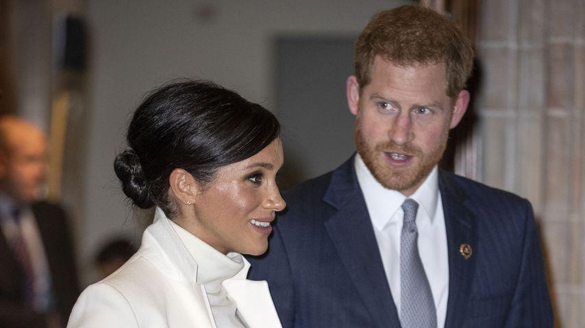 Meghan Markle und Prinz Harry in London