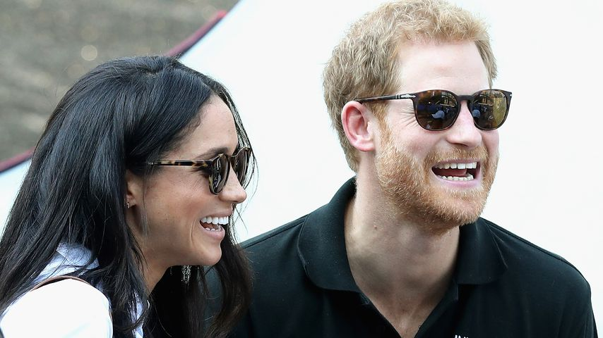 Meghan Markle und Prinz Harry bei den Invictus Games