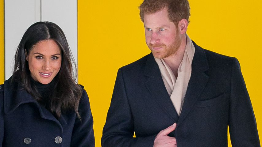 Meghan Markle und Prinz Harry in London