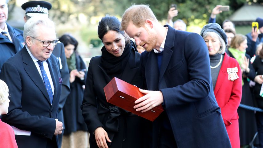 Meghan Markel und Prinz Harry in Cardiff