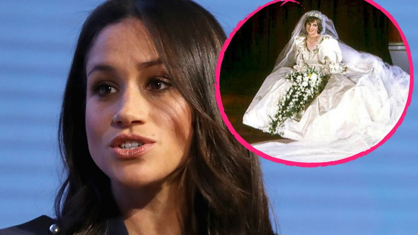 Brautkleid-Horror: Meghan vorsichtiger als Lady Diana?