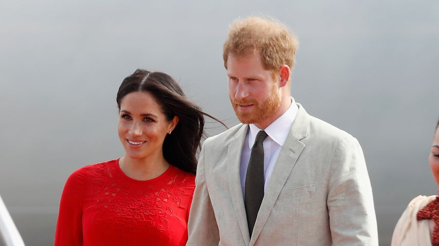 Herzogin Meghan und Prinz Harry in Tonga