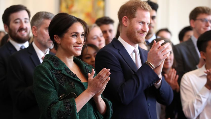 Herzogin Meghan und Prinz Harry beim Commonwealth Day Youth Event in London