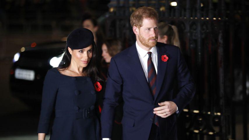 Ganz heimlich: Meghan & Harry inkognito in London unterwegs