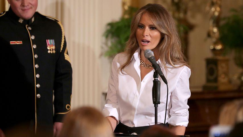 Bilder-Zoff! Sprachschule wirbt unerlaubt mit Melania Trump!