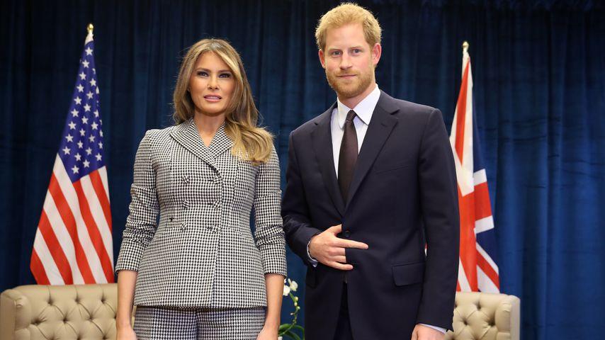 Melania Trump und Prinz Harry in Toronto