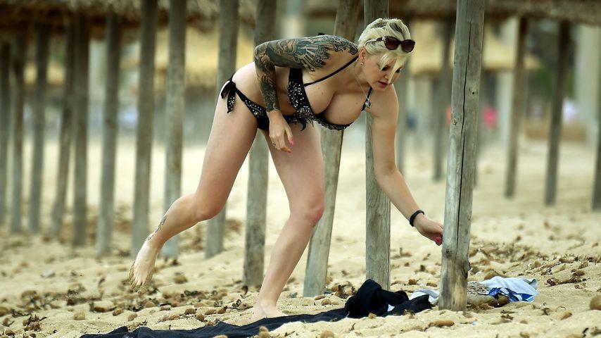OP-Marathon: Hier zeigt Melanie Müller ihre XXL-Brüste