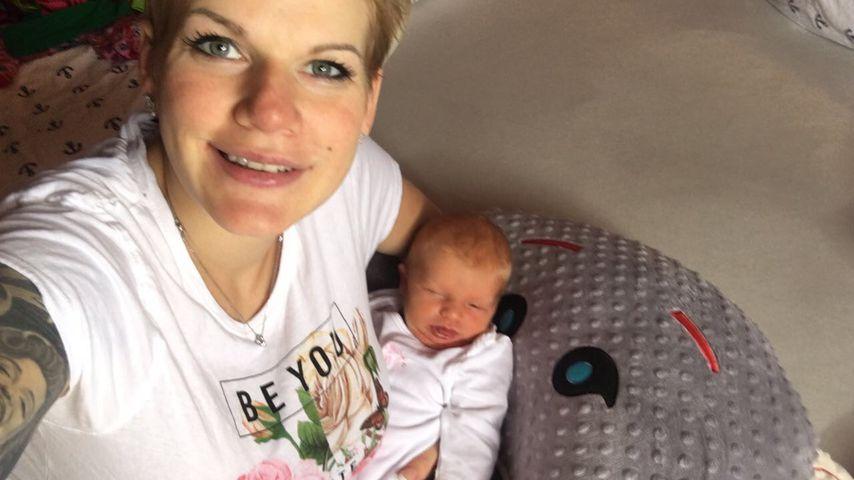 Tätowierung trotz Stillen? Melanie Müllers Fans flippen aus