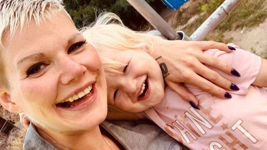 Melanie Müller mit ihrer Tochter Mia Rose