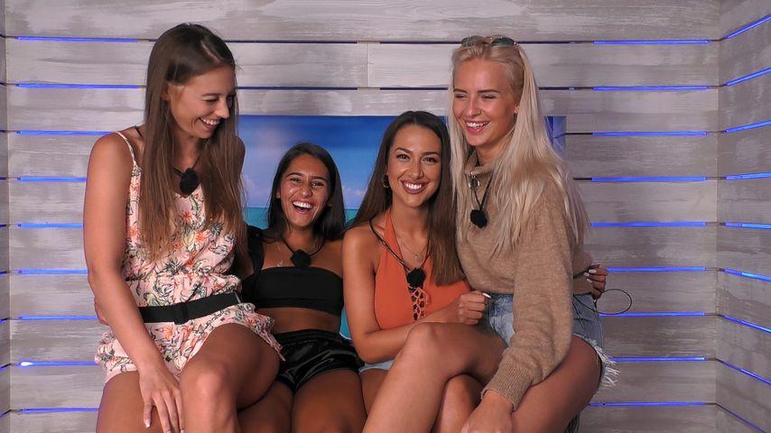 """Melina, Aurelia, Geraldine und Anna bei """"Love Island"""""""