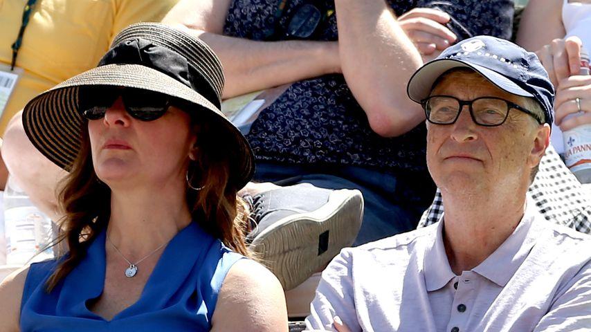 Melinda und Bill Gates 2017