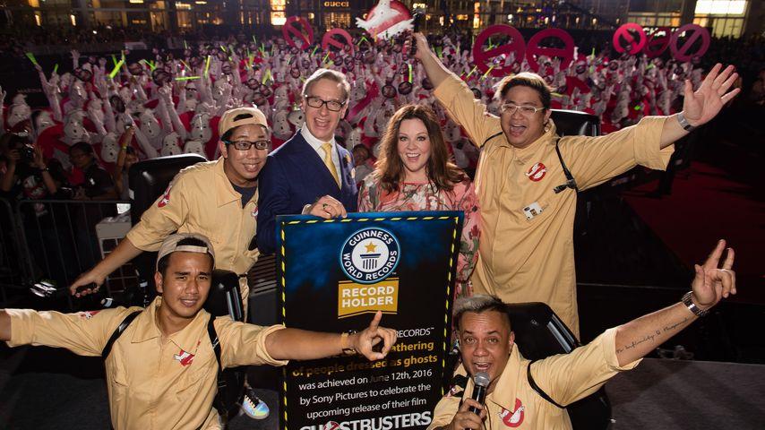Unglaublich: Ghostbusters-Fans stellen Weltrekord auf!