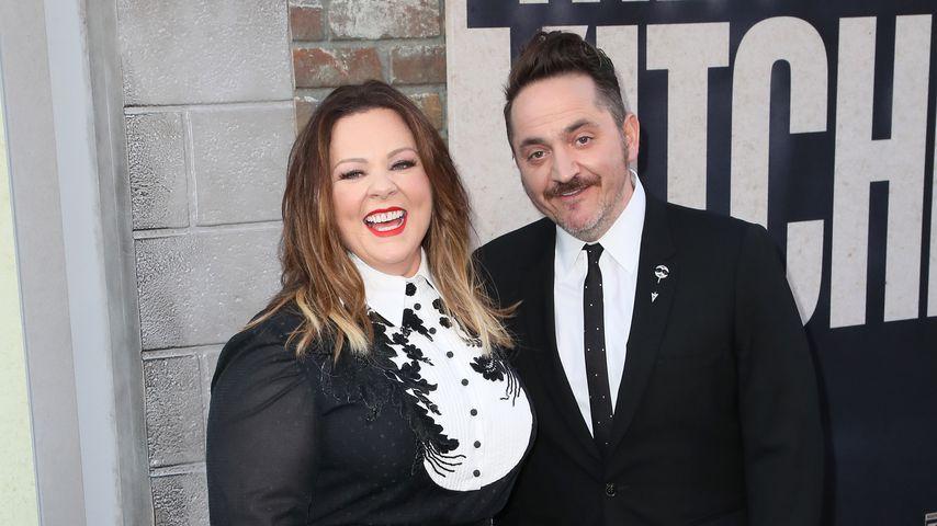 Melissa McCarthy und Ben Falcone, August 2019