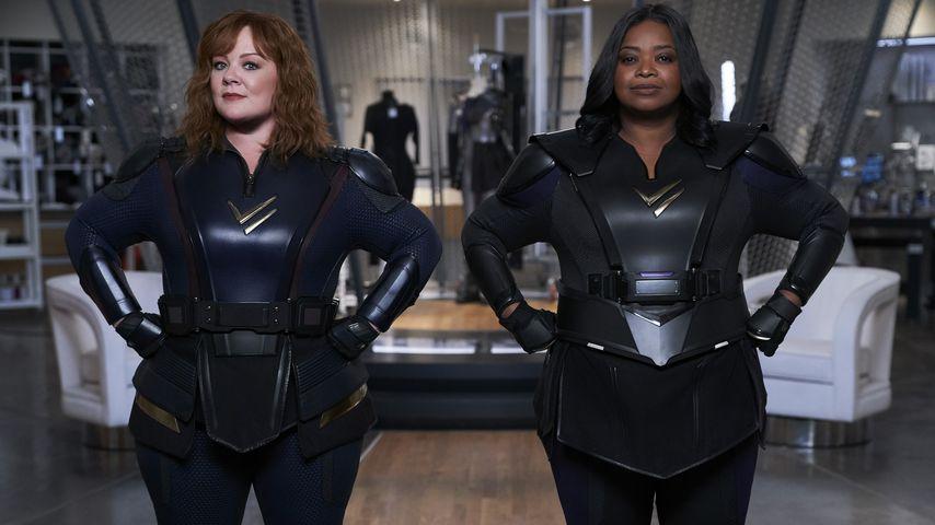 "Melissa McCarthy und Octavia Spencer in ""Thunder Force"""
