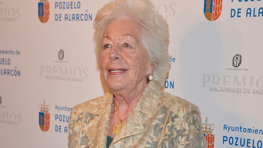 Menchu Álvarez del Valle beim National Radio Awards in Madrid im Februar 2013