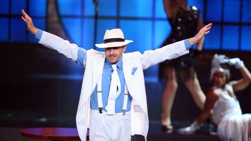 """Menderes Bagci beim """"Dance Dance Dance""""-Solo zu 'Smooth Criminal' von Michael Jackson."""