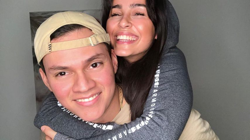 Meryem Martin mit ihrem Freund