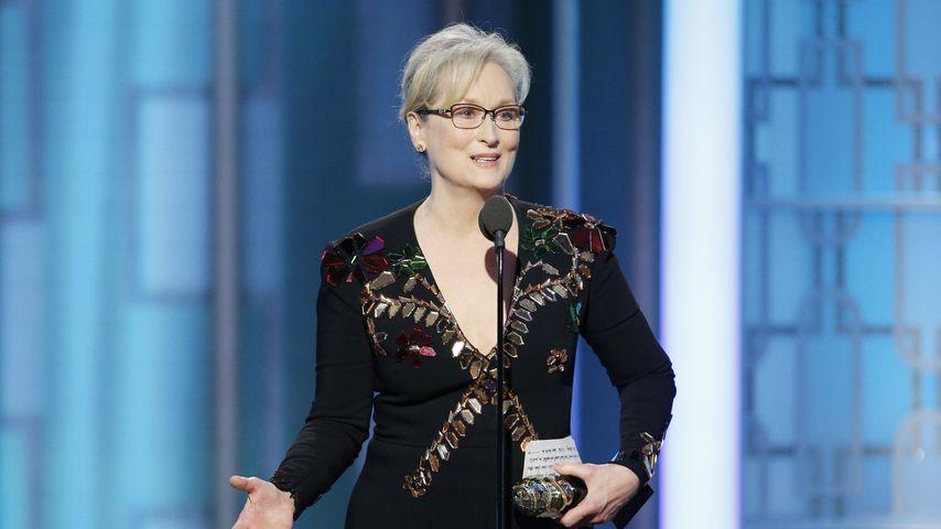 Meryl Streep bei den 74. Golden Globe Awards in Beverly Hills