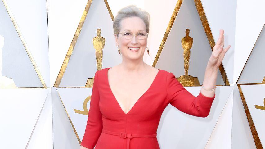 Meryl Streep im März 2018 bei den Oscars