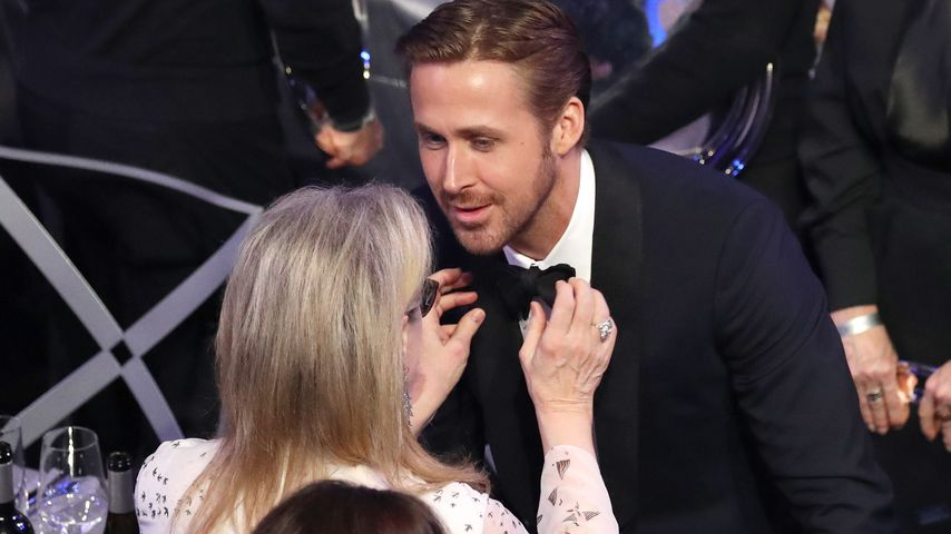 Fashion-Hilfe für Ryan Gosling: Meryl Streep muss es richten