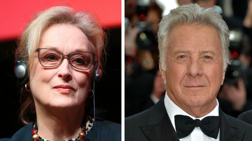 Sex-Skandal: Nimmt Meryl Streep Dustin Hoffman in Schutz?