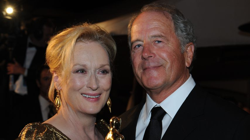 Meryl Streep und ihr Ehemann Don Gummer bei den Oscars 2012
