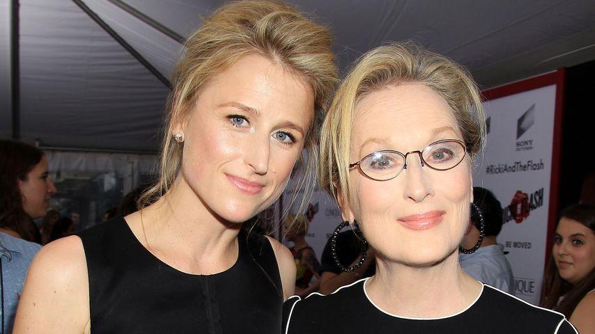 """Mamie Gummer und Meryl Streep bei der Premiere von """"Ricki and the Flash"""" in New York"""