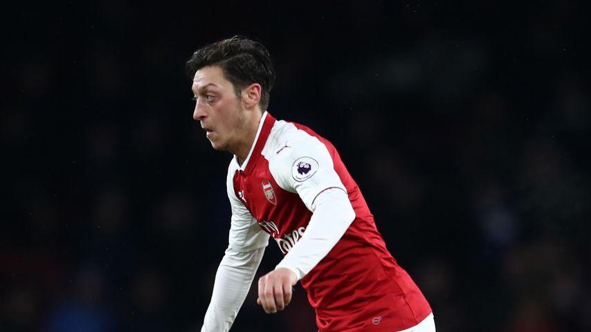 Mesut Özil beim Premier League-Spiel Arsenal gegen Everton am 3. Februar 2018