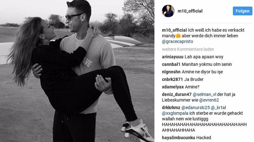 Mesut Özils Entschuldigungs-Post