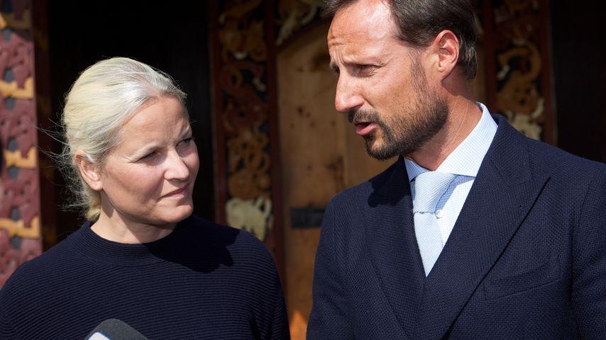 Attentat aufs Schloss? Schock für Prinz Haakon & Mette-Marit