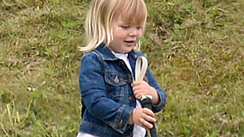 "Mia Tindall beim ""Maserati Royal Charity Polo Trophy"" in Tetbury"