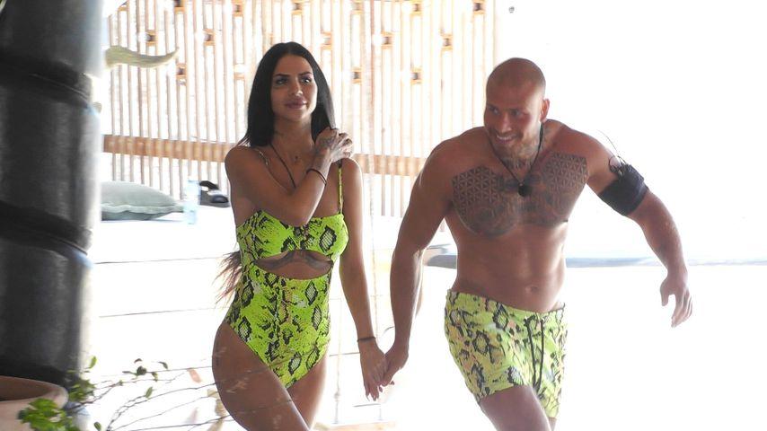 """Mia und Salvatore, Kandidaten bei """"Paradise Hotel"""""""