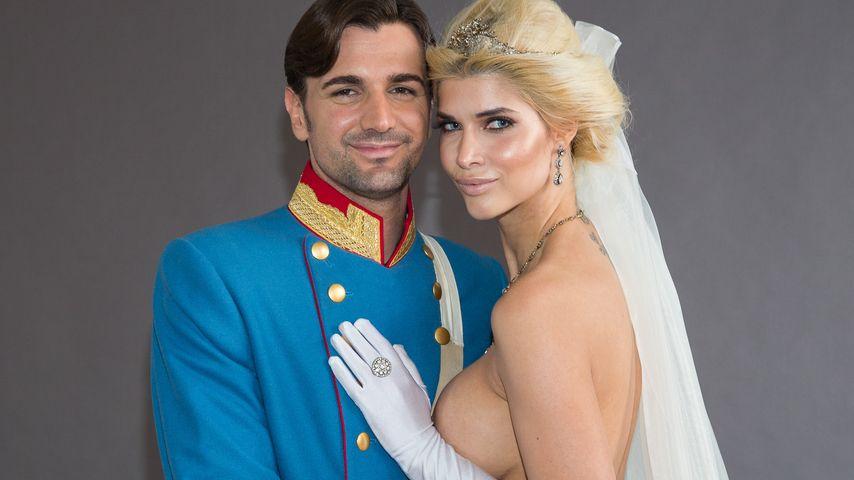 Micaela Schäfer mit ihrem Freund