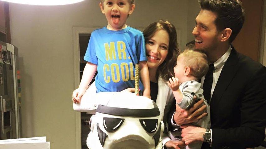 Michael Bublé mit seiner Familie