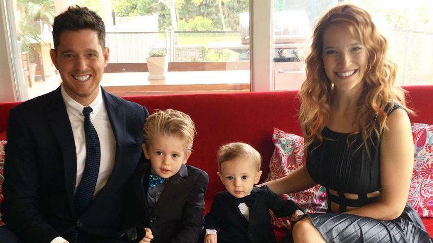 Nach Krebs-Erkrankung: So geht's Michael Bublés kleinem Sohn
