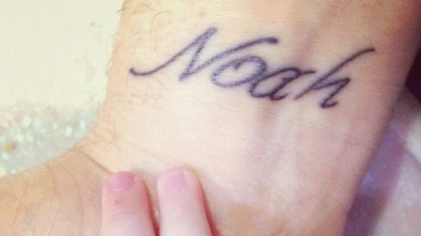 """Michael Bublés """"Noah""""-Tattoo"""