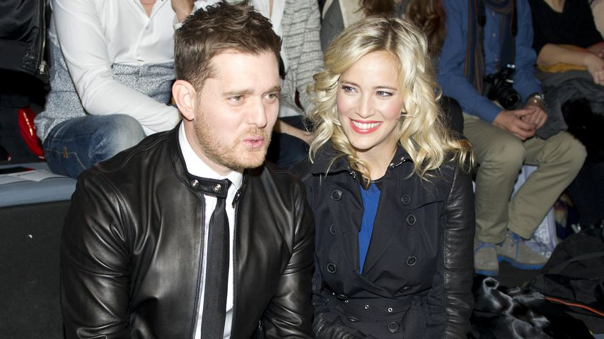 Michael Bublé und Luisana Lopilato bei der Madrid Fashion Week