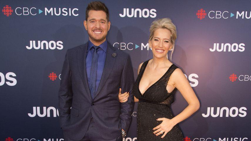 Michael Bublé und Luisana Lopilato bei den Juno Awards 2018
