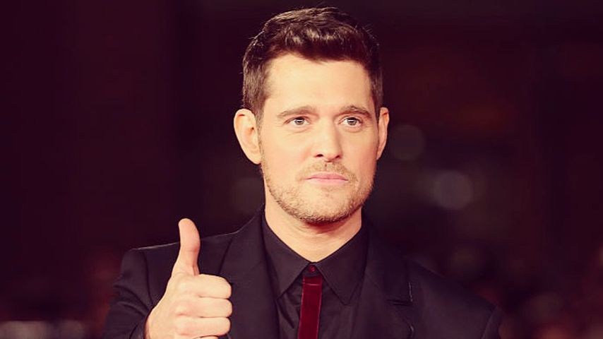 Michael Bublé beim Filmfestival in Rom