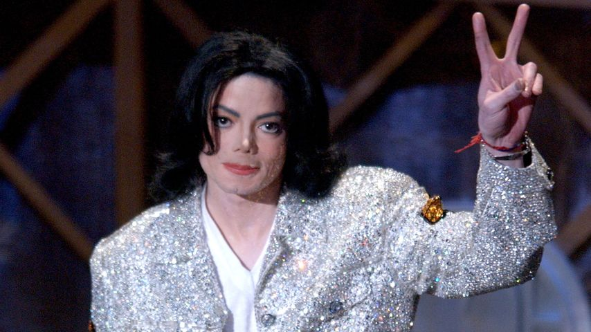 King of Pop Michael Jackson im Jahr 2002