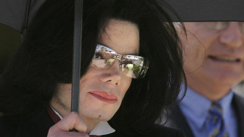 Michael Jackson im Mai 2005 in Santa Monica