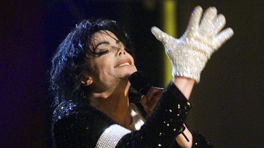 Michael Jackson in New York 2001