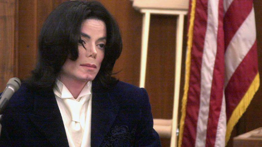 Michael Jackson 2002 vor Gericht